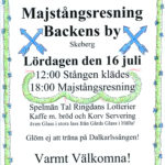 majstångsresning backen 2016